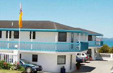 Accommodation: Snells Beach Motel