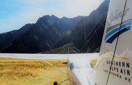 Milford Sound Glacier Flight and Cruise with Southern Alps Air