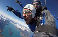 Skydive Southern Alps 12000 ft jump