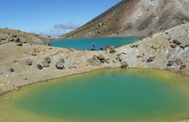 Private Guided Scenic Highlights Tour of Tongariro National Park with Adventure Outdoors