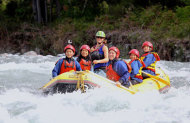 Tongariro Family Float Rafting