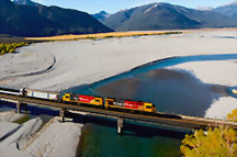 Tour suggestions: New Zealand scenic train tours