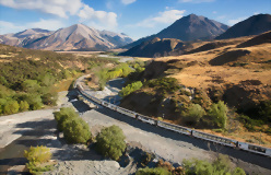 2 day Tranz Alpine and West Coast Glaciers to Queenstown - day 1