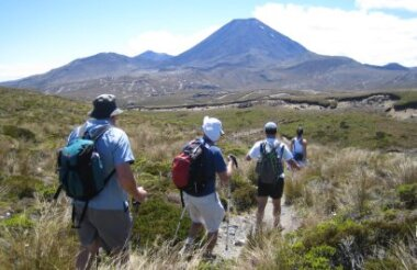 Tongariro 3.5 Day Hiking Tour