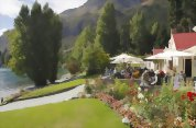 TSS Earnslaw cruise to Walter Peak including gourmet BBQ dinner and a farm tour