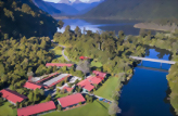 Accommodation: Wilderness Lodge, Lake Moeraki