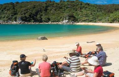 Abel Tasman National Park Cruise and Walk Open Day Pass