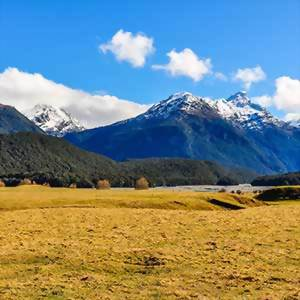 Glenorchy, mountain landscape