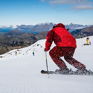 Ski break New Zealand