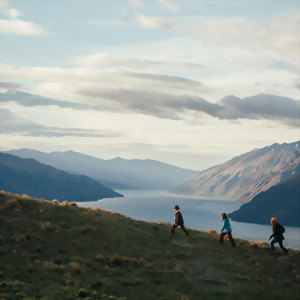 Filming Disney's Pete's Dragon above Lake Wakatipu, Queenstown
