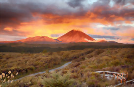 Mt Doom, Central North Island