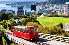 Classic Wellington cable car