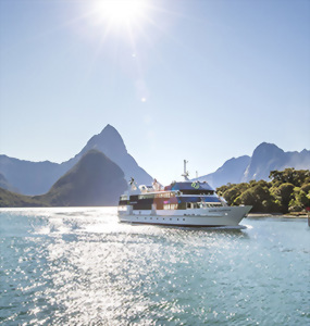 Milford Sound cruise, Fiordland National Park