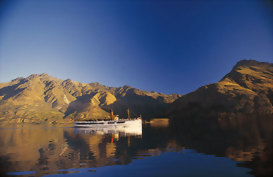 The famous steamship Earnslaw, Queenstwon NZ