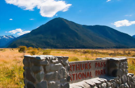 Arthurs Pass National Park New Zealand