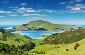 The beautiful Otago Peninsula