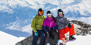 New Zealand ski holidays at the Remarkables