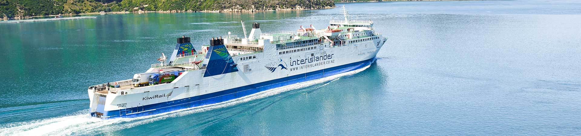Interisland Ferry New Zealand