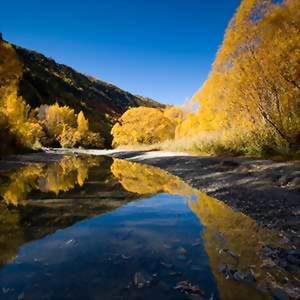 Arrowtown near Queenstown New Zealand