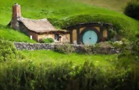 Take a tour to the Hobbiton Movie set