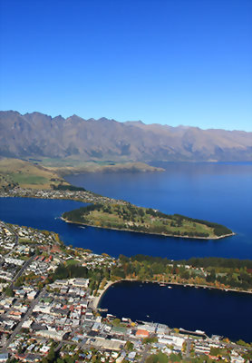 Stunning views over Queenstown