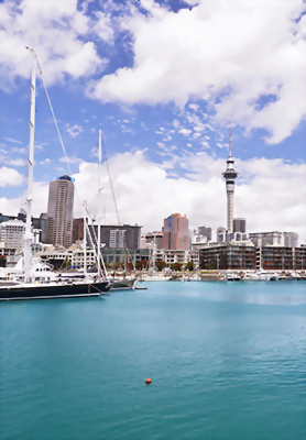 Auckland Harbour New Zealand