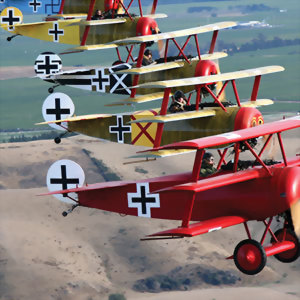 classic world war 1 fighters Omaka air show 2019