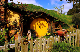 Experience the amazing Hobbiton movie set