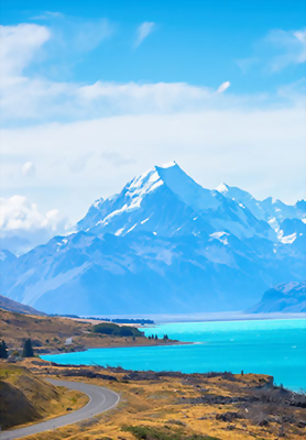 Mountains, South Island