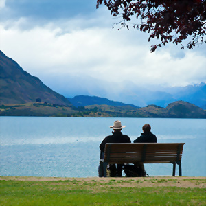 Over cast day in Wanaka