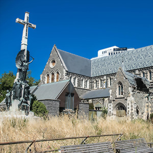 Post Earthquake Cathedral