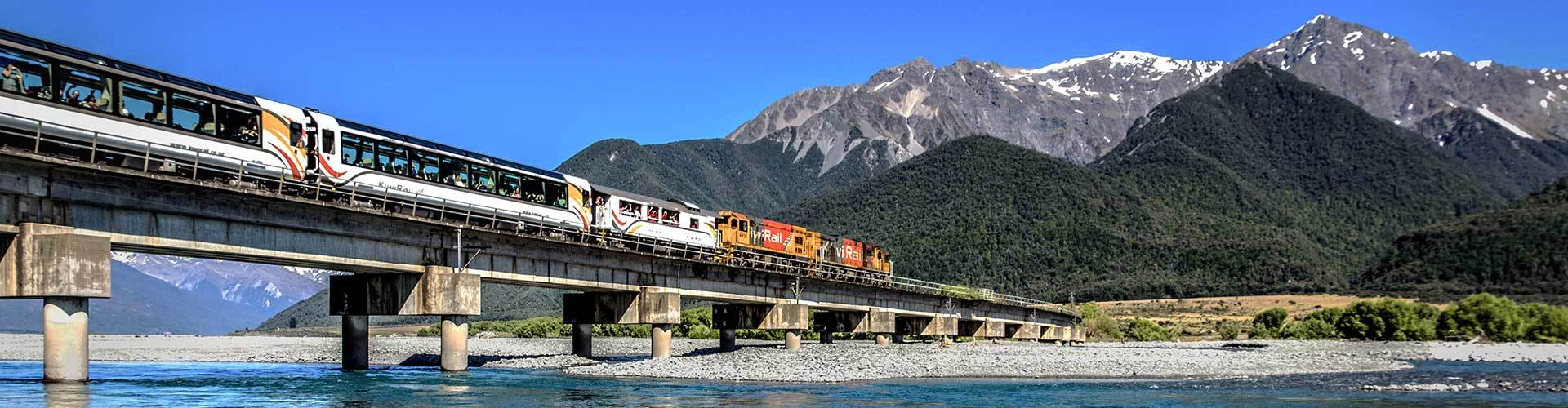 TranzAlpine tours New Zealand