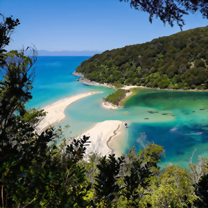 Explore the lagoons in Abel Tasman National Park