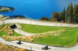 Fun Queenstown activity - skyline luge