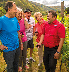 AAT Kings wine tour near Queenstown