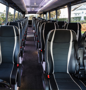 Signature coach interior