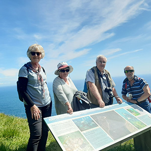 Maher Tours clients in the North Island