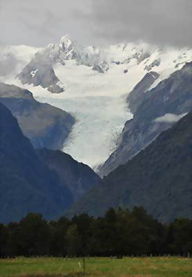 Fox Glacier, New Zealand