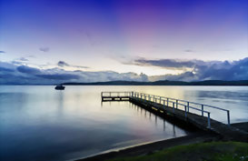 Relax on the shores of Lake Taupo