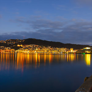 Explore Wellington at night