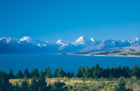 Lake Pukaki from above