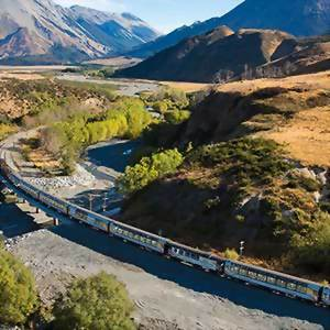 The Tranz Alpine train
