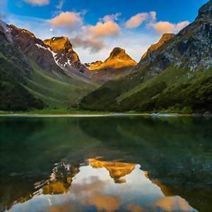 Routeburn Track Reflection, New Zealand