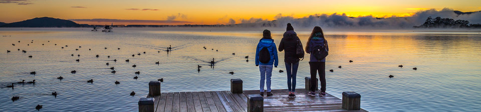 Explore Lake Rotorua, North Island NZ