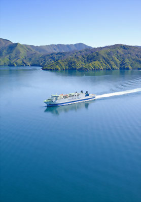 Interislander Ferry, Cook Straight, New Zealand