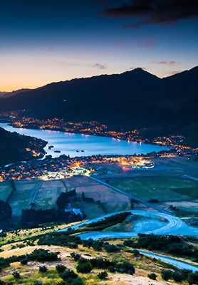 Spend an evening in Queenstown