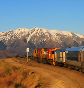 Tranzalpine Rail Route
