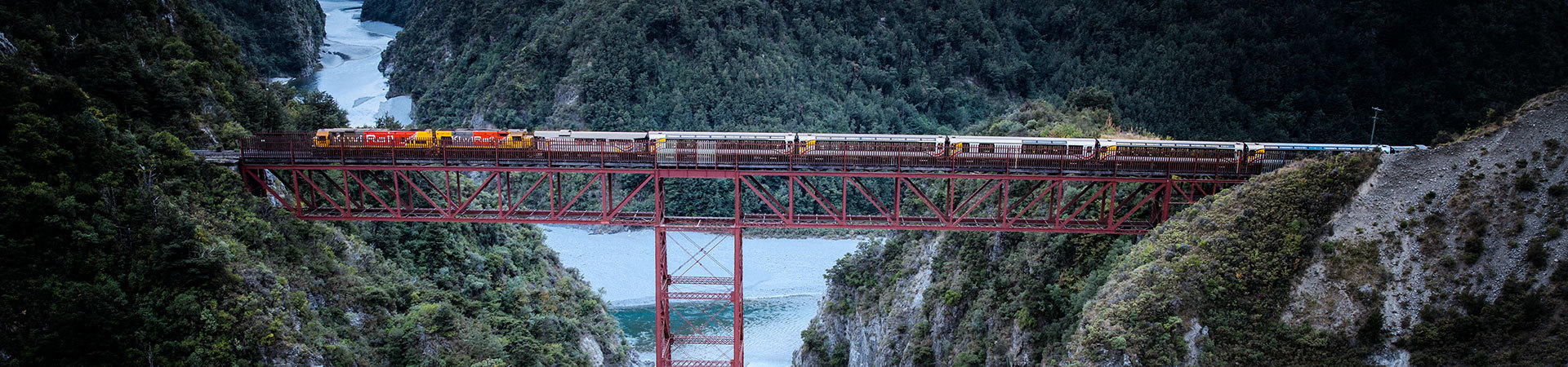 TranzAlpine train, South Island