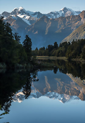 Lake Matheson, West Coast