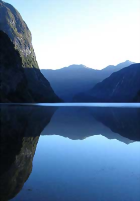 Fiordland Evening Reflections